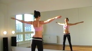 Bellydance CARDIO WARM-UP (1) Workout with Coco Berlin