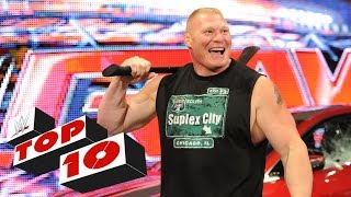 Top 10 Raw moments: WWE Top 10, July 6, 2015