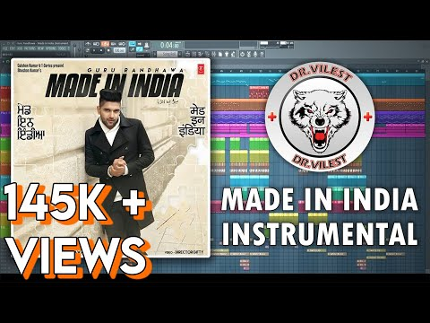 MADE IN INDIA (Instrumental) | Guru Randhawa | Vee | Dr.Vilest