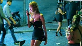 Pattaya Nightlife, Walking Street after midnight - VLOG 74