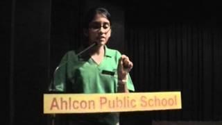 Hindi Debate Ahlcon Public School