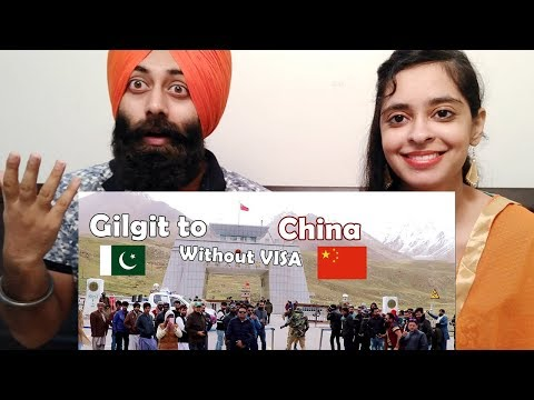 Indian Reaction on Pakistani Crossing Gilgit to China Without VISA Ft. Basitt | PunjabiReel TV