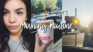 MY ACTUAL MORNING ROUTINE 2017
