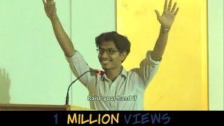 Funniest Engineering Graduation Speech , Indian guy