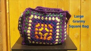 Large Granny Square Bag