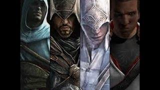 Who's the best fighter-Altair vs Ezio vs Connor vs Edward