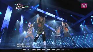 EXO_늑대와 미녀 (Wolf by EXO@M COUNTDOWN 2013.6.20)