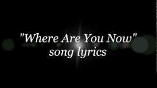 Nazareth - Where Are You Now lyrics
