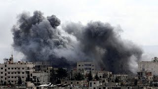 Airstrikes in Syria stop aid and medical evacuations