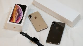 Unboxing iPhone Xs, iPhone Xs Max & Apple Watch 4 Indonesia