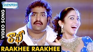 Rakhi Telugu Movie Video Songs | Raakhee Raakhee Full Video Song | Jr NTR | Charmi | Ileana | DSP