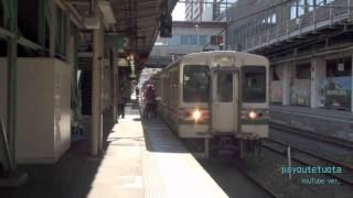 電車に乗り遅れた客に対して駅員が非情な一言!(高崎にて)