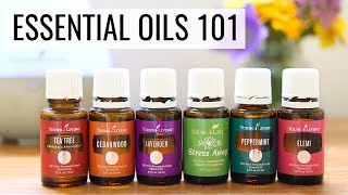GETTING STARTED WITH ESSENTIAL OILS | tips, tricks + recipes
