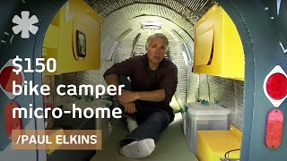 $150 bike camper: DIY micro mobile home (downloadable plans)