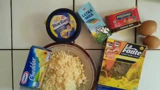 Resep dan cara membuat macaroni schotel mudah dan enak // Snack dewasa dan untuk anak 9 bulan keatas