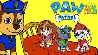 🌟 CINCO PERRITOS 🌟 Con la Patrulla Canina | Canciones Infantiles | Dibujos Animados