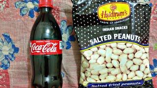 Coke + peanuts challenge