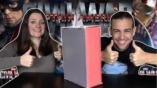 BOX CAPTAIN AMERICA CIVIL WAR MARVEL | STUFFBOX DOUBLE POP !