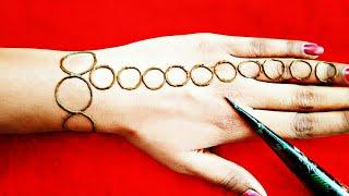 superb easy mehndi designs || easy henna designs || mehndi designs