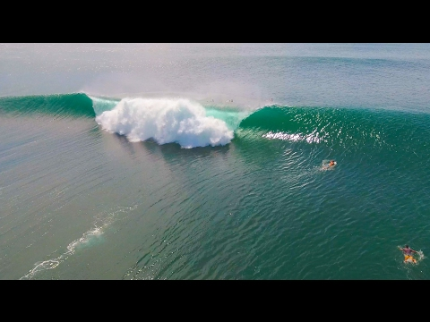 4K BALI DRONE SURFING at Serangan by Indo Eye