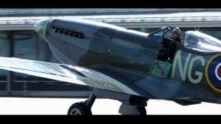 Vickers Supermarine Spitfire Mk  XVI Great sound!