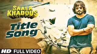 SAALA KHADOOS Title Song (FULL VIDEO ) | R. Madhavan, Ritika Singh | T-Series