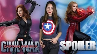 Captain America Civil War SPOILER Film incelemesi - Kaptan Amerika iç Savaş