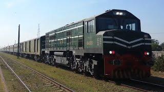 Pakistan Railways Rare Route Diverted Trains