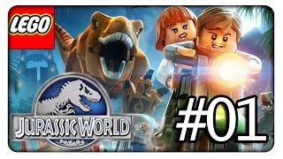 LEGO JURASSIC WORLD #01 - Die Dinos kommen - Let's Play Lego Jurassic World [HD+|Deutsch]