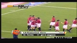 Francesco Totti show incredibile goal