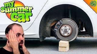 ACTUALIZAN Y ME ROBAN LAS RUEDAS :S   MY SUMMER CAR Gameplay Español