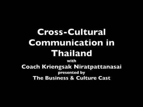 cross cultural management thai culture