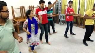 Rag day program dance rehearsal BUBT student