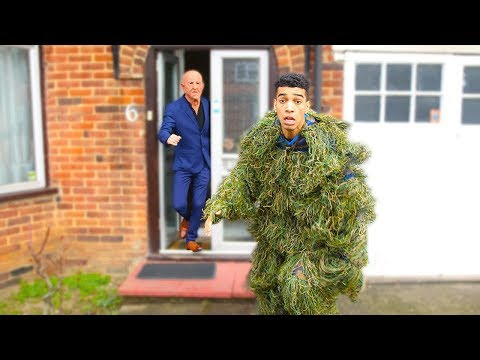Ding Dong Ditch PRANK In Ghillie Suit Don t Try This
