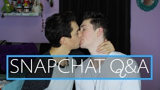 HOW WE FELL IN LOVE (SNAPCHAT Q&A)