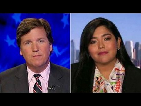 Tucker to author Why s Trump s wall a symbol of hate