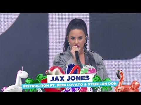 Jax Jones - 'Instruction' ft. Demi Lovato & Stefflon Don (live at Capital's Summertime Ball 2018)