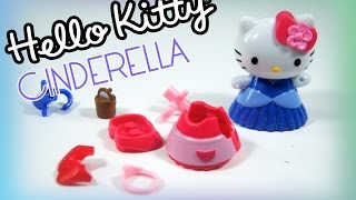 Hello Kitty Cinderella Toy Review!! Will Hello Kitty make it to the Ball?? Lets Play and See!!