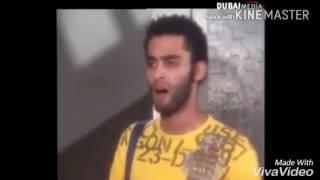 نور الشريف يضرب ابنه بالقلم من على بعد 5 متر 😂😂