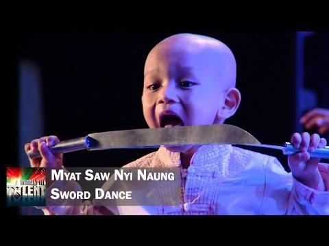 Xxx Mp4 Myat Saw Nyi Naung Traditional Sword Dance Myanmar S Got Talent Season 3 3gp Sex