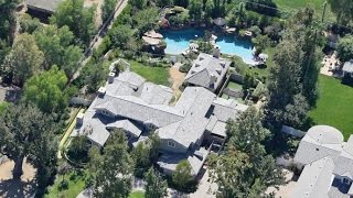 Angelina Jolie And Children Move Into $7 Million Hidden Hills Mansion With Massive Pool Amid Divorce