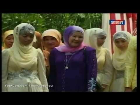 Muslim Cambodian wedding the culture of Cham (Khmer Muslim wedding)