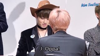 When Jungkook BTS become the obsession of his hyungs #EvilMaknae