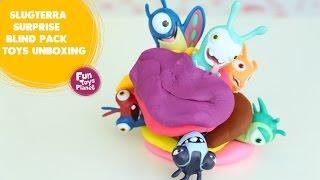 SlugTerra Toys Surprise Toys Unboxing-FunToys Planet