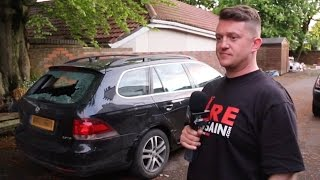 Tommy Robinson ambushed for confronting Muslim councillor