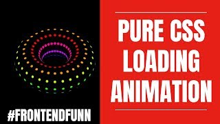 #frontendfunn Pure CSS Animation Tutorial   Advanced CSS3 Transformations and Animations