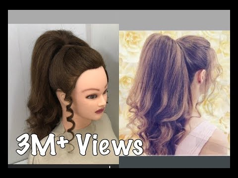 Xxx Mp4 Beautiful Hairstyles With Long Ponytail Trick Easy Wedding Hairstyles 3gp Sex