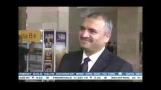 Adam Ebrahim, CEO of Oasis Group Holdings, interviewed at the Mining Indaba