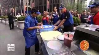 World's Fastest Pizza Maker