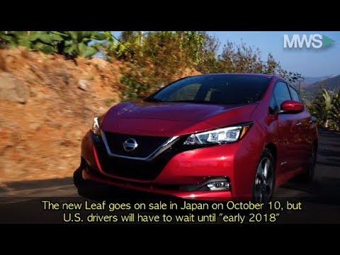 Nissan Leaf 2018: New Design & More Range at Lower Price